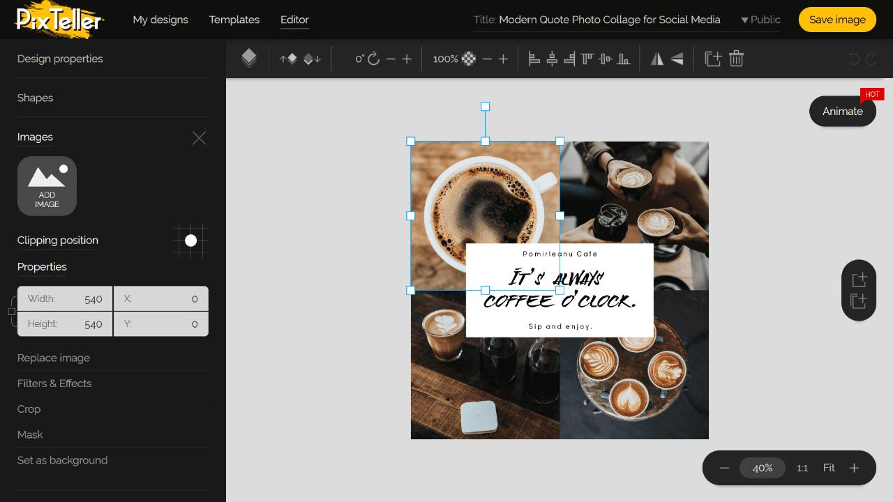 Free Photo Collage Editor Screenshot