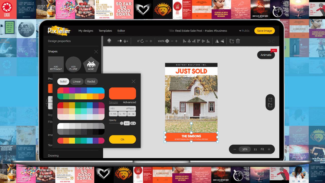 Poster Maker Tool