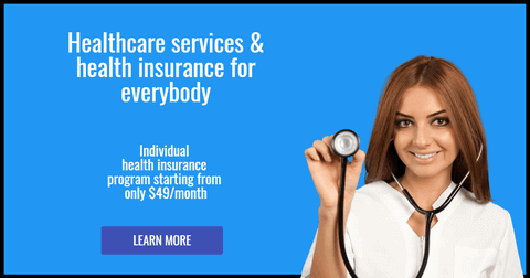 Health Business Editable Facebook Ad Banner Example