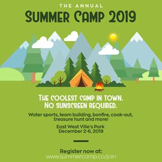 Summer Camp Invitation Example