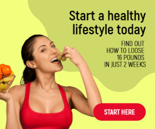 Healthy Lifestyle Large Rectangle Banner Example Easy to Customize