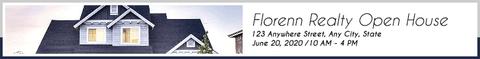 Real Estate Leaderboard Banner Layout for Google Ads