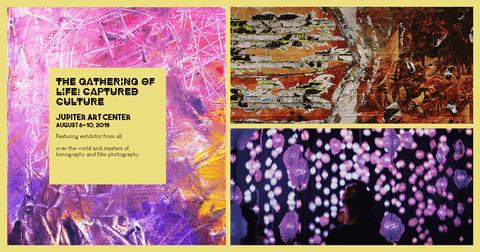 Exhibit Event Program Invitation Photo Collage Card Example