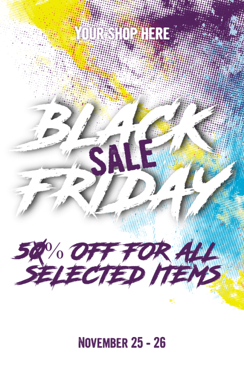 Black Friday Poster Example for Your Marketing Campaign
