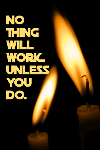 Inspiring Quote Poster Example