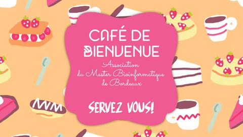Cafe de Bienvenue - Pinky Youtube Thumbnail Example